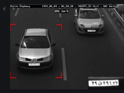 شناسایی خودرو از طریق دوربین پلاکخوان