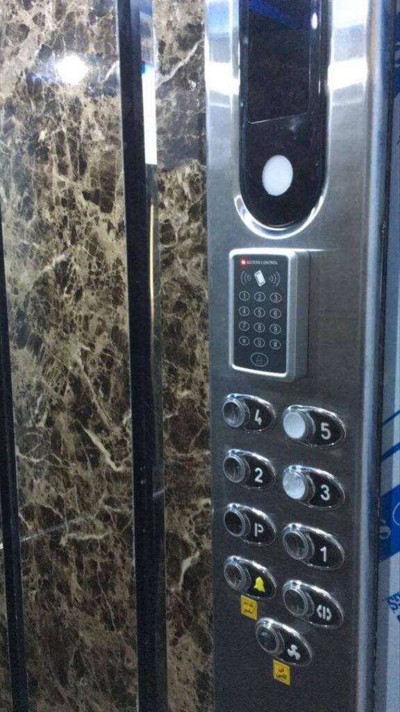 کنترل دسترسی آسانسور